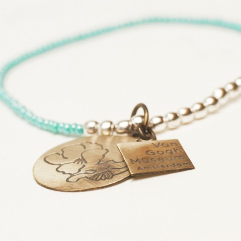Van Gogh A Beautiful Story® Bracelet with beads Almond Blossom
