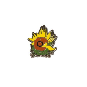 Van Gogh Pin Sunflowers