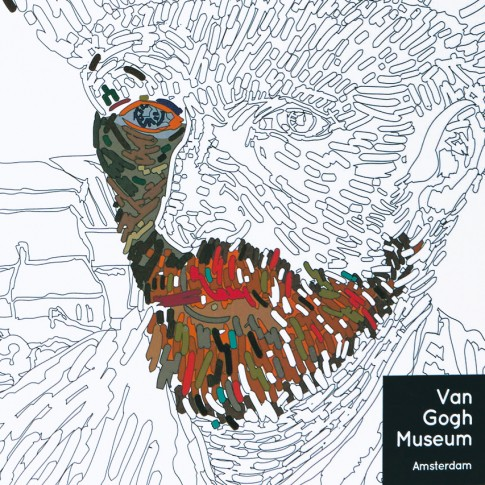 colour your own van gogh - Van Gogh Coloring Book