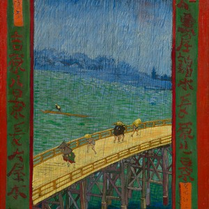 Van Gogh Giclée, Bridge in the Rain (after Hiroshige)