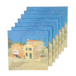 Van Gogh Napkins The Yellow House (The Street)