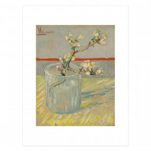 Van Gogh Print S Sprig of Flowering Almond