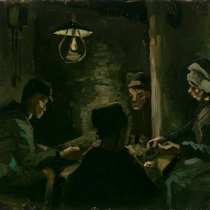 Van Gogh Giclée, Study for 'The Potato Eaters'