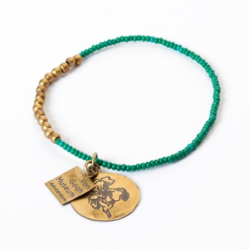 Van Gogh A Beautiful Story® Bracelet with beads Irises