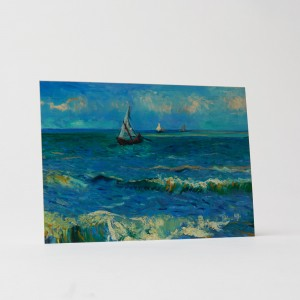 Van Gogh Card Seascape