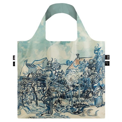 LOQI x Van Gogh Museum Old Vineyard bag