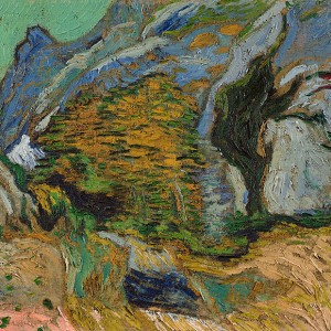 Van Gogh Giclée, Ravine with a Small Stream