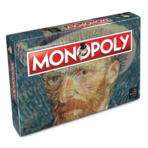 Van Gogh Monopoly® board game