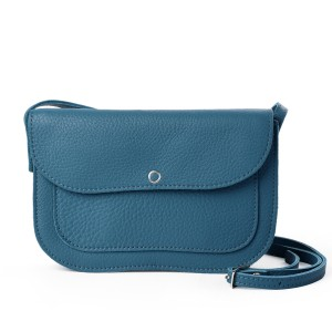 Van Gogh Keecie® Leather bag Faded Blue