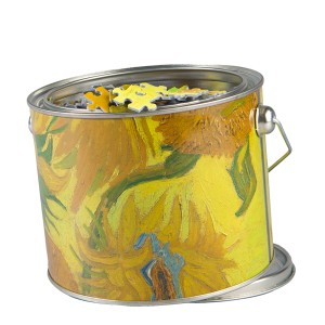 Puzzle canned Sunflowers