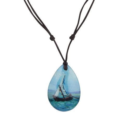Van Gogh Necklace Seascape