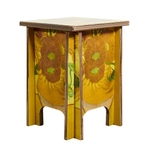 Unfold x Van Gogh Museum® Stool Sunflowers