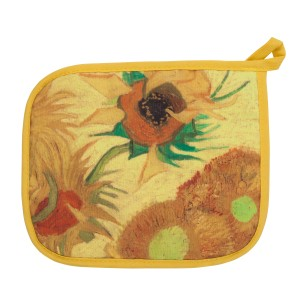 Van Gogh Pot holder Sunflowers