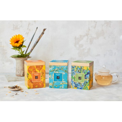 Van Gogh Newby® tea in tin, Sunflowers