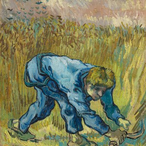 Van Gogh Giclée, The Reaper (after Millet)