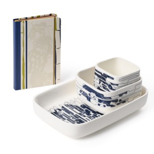 Van Gogh Gift set Courtesan, notebook + bowls