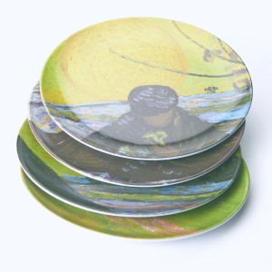 Van Gogh &Klevering® Set of plates The Sower