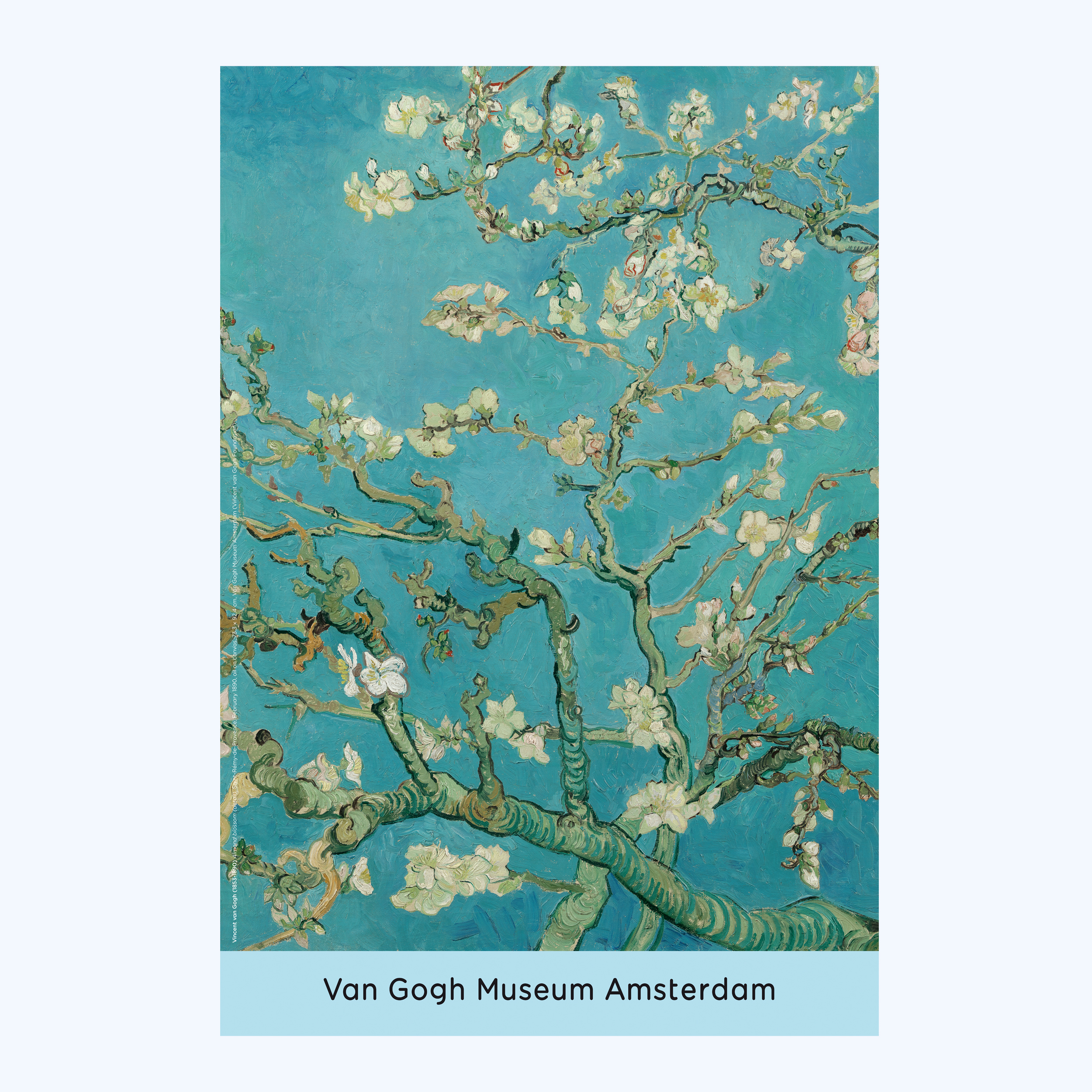Van Gogh Poster Almond Blossom - Van Gogh Museum shop for Almond Blossom Van Gogh Poster  104xkb