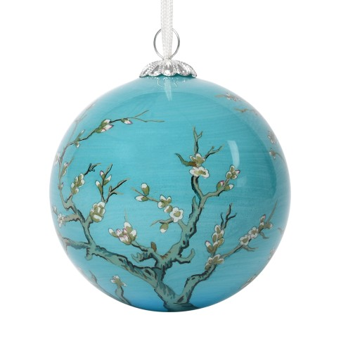 Van Gogh Glass Bauble Almond Blossom