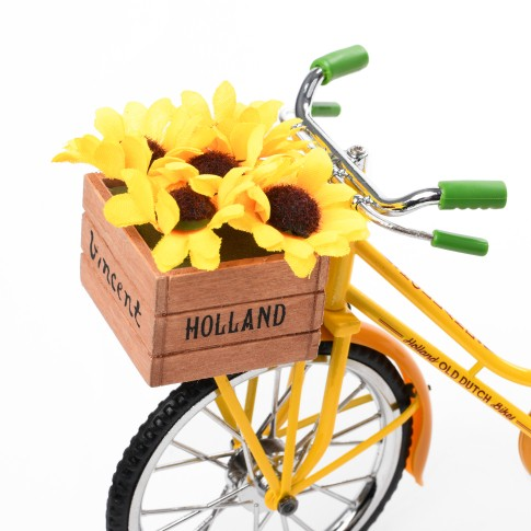 Van Gogh Miniature bicycle Sunflowers