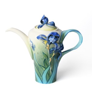 Van Gogh Franz Collection® Porcelain teapot Irises