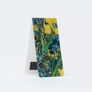 Van Gogh Bookmark magnetic, Irises