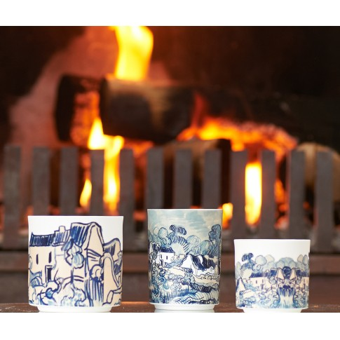 Van Gogh &Klevering® Porcelain Tea light holder medium