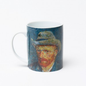 Van Gogh Mug Self-Portrait with Grey Hat