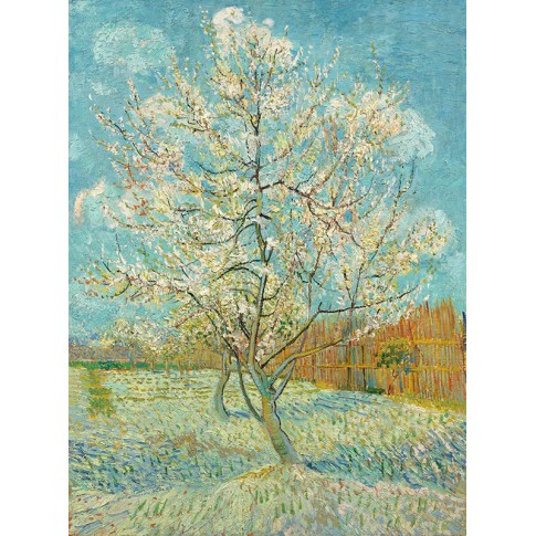 Van Gogh Giclée, The Pink Peach Tree
