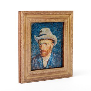 Framed magnet Van Gogh Self-Portrait