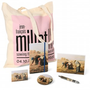Gift set Millet, The Gleaners