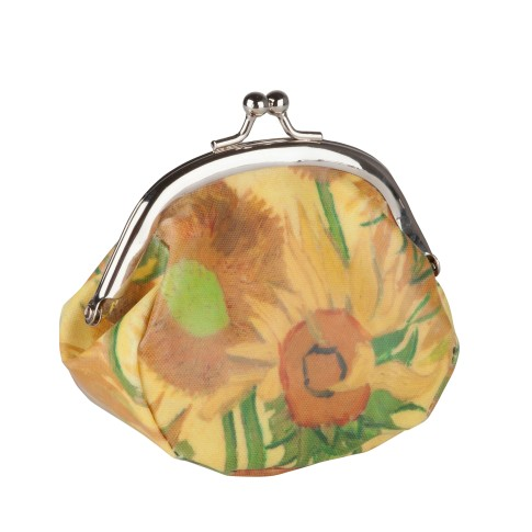 Van Gogh Purse Sunflowers