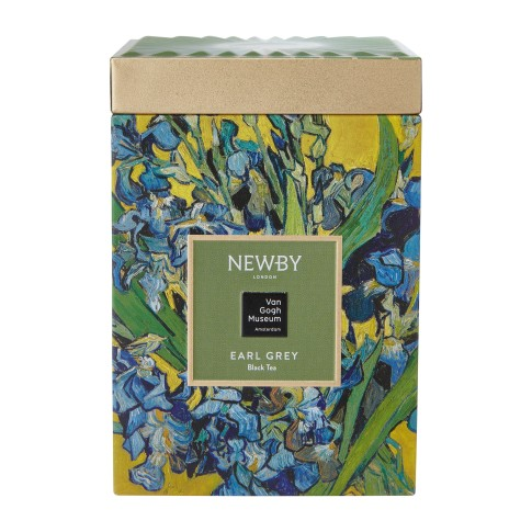 Van Gogh Newby® tea in tin, Irises