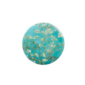 Van Gogh Mirror button Almond Blossom