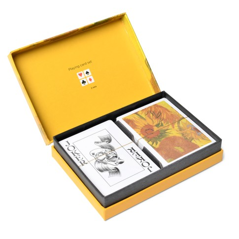 Van Gogh Playing cards Sunflowers