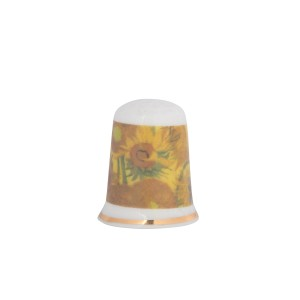 Van Gogh Thimble  Sunflower