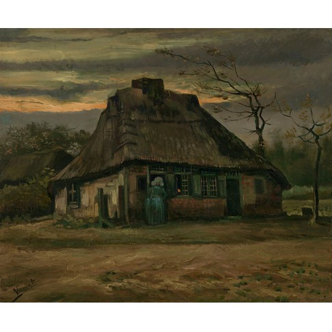 Van Gogh Giclée, The Cottage