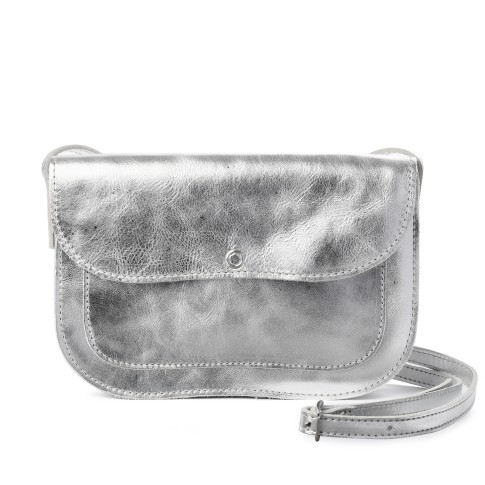 Van Gogh Keecie® Leather bag Silver