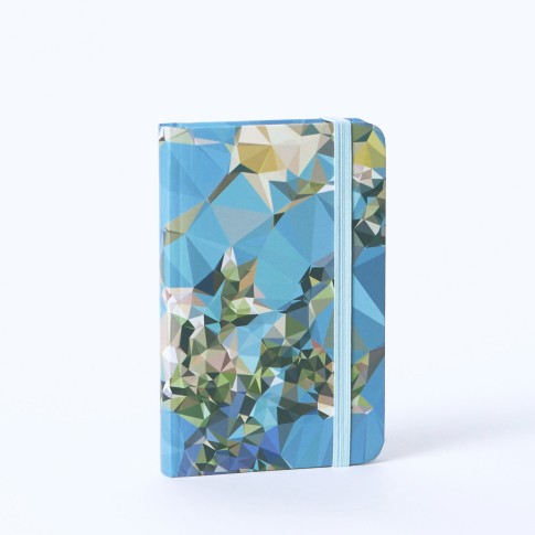 Notebook A6 with pocket VG Almond Blossom Crystalized