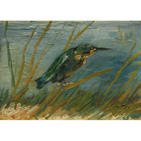 Van Gogh Giclée, Kingfisher by the Waterside