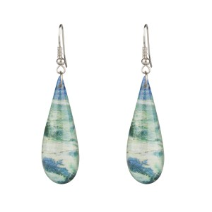 Van Gogh Earrings Seascape