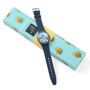 Panapop® watch, Van Gogh Landscape with Houses