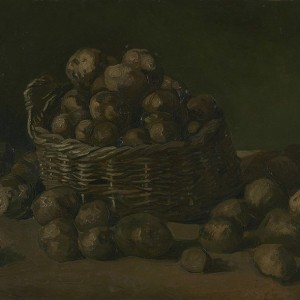 Van Gogh Giclée, Basket of Potatoes