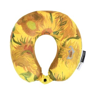 Van Gogh Neck pillow memory foam Sunflowers
