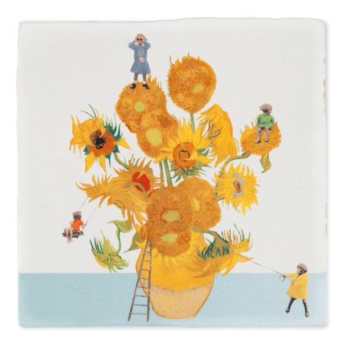 Van Gogh Tile The sunflower expedition