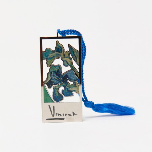 Van Gogh Bookmark Irises