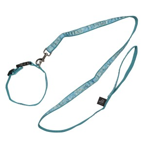 Van Gogh Dog collar and leash Almond Blossom