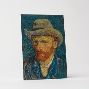 Van Gogh Card Self-Portrait with felt hat
