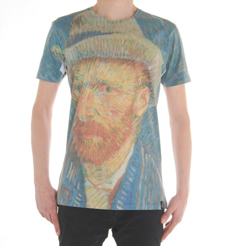 Van Gogh T-shirt Self-Portrait with grey felt hat