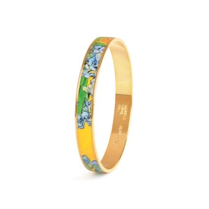 Van Gogh 22kt Goldplated bangle Irises, by Erwin Pearl®